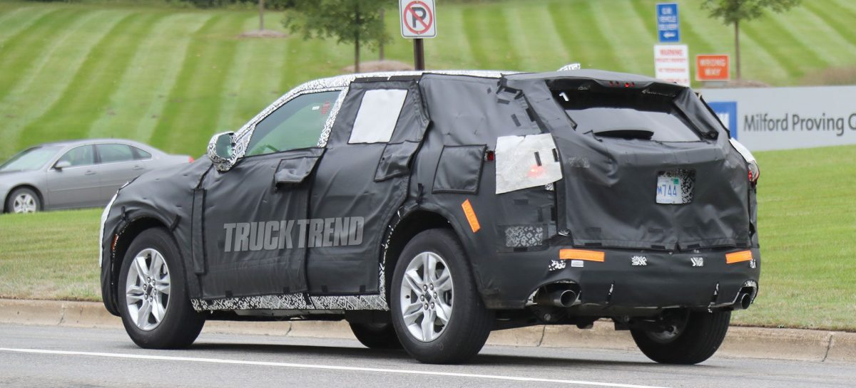 Chevrolet тестирует кроссовер Blazer