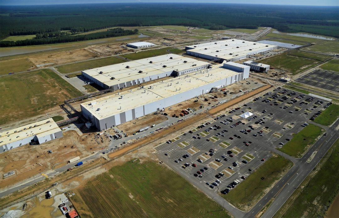 Завод в Южной Каролине для нового Volvo XC90