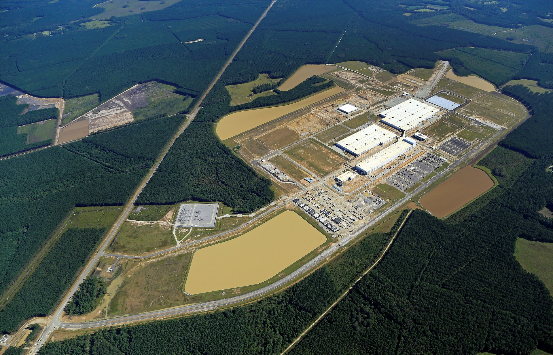 Новый завод Volvo в Южной Каролине для XC90