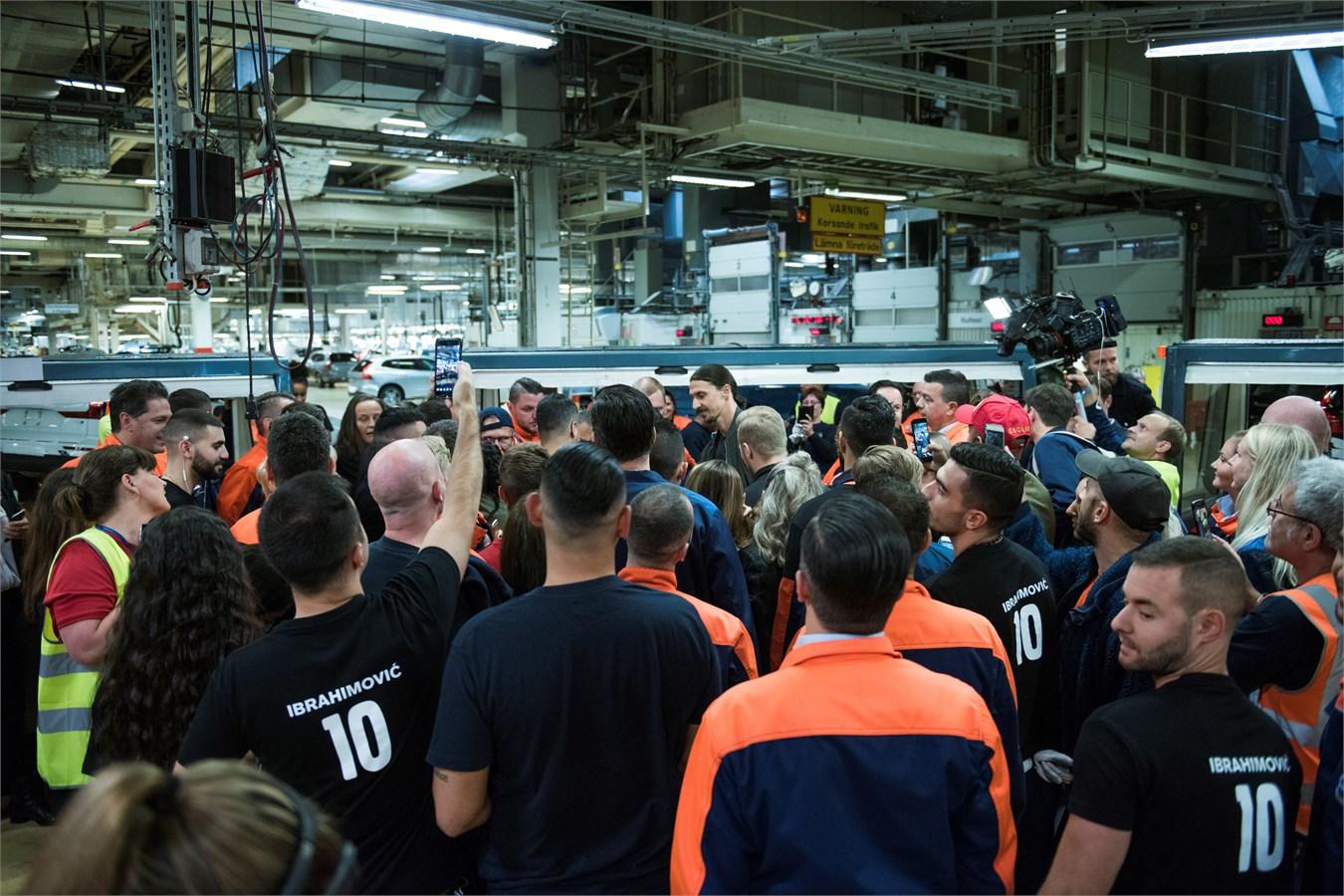 завод Volvo в Торсланде