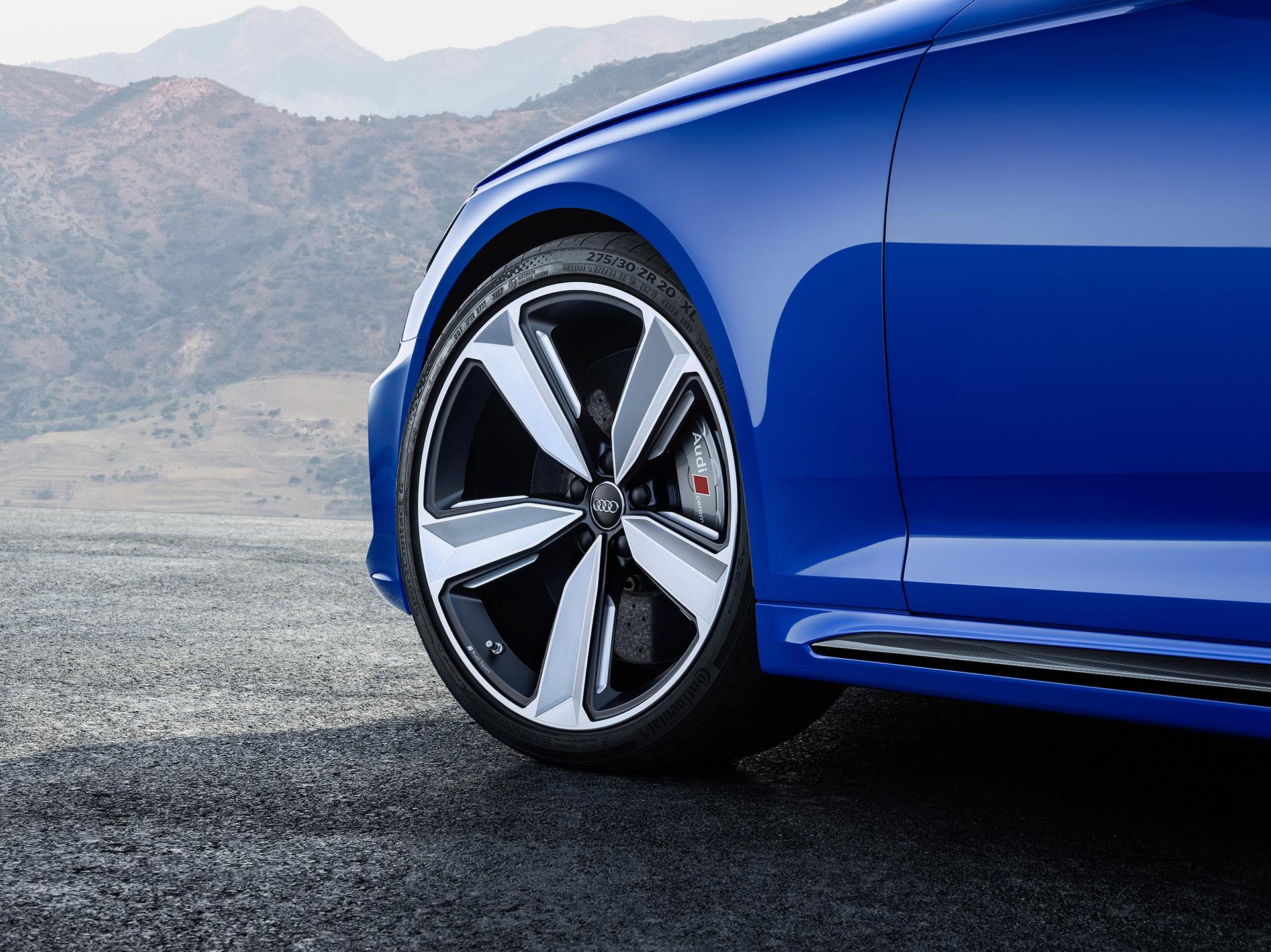 Audi RS 4 Avant колеса