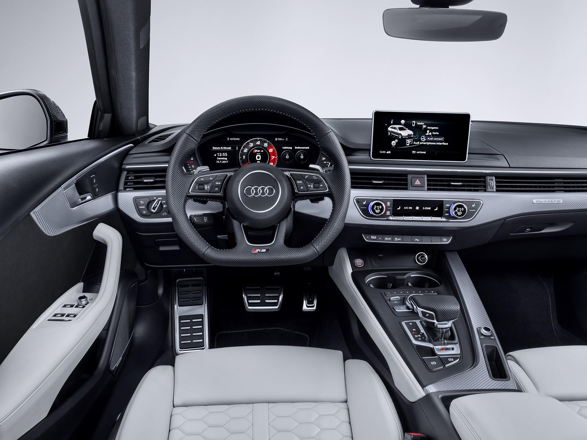 Audi RS 4 Avant панель
