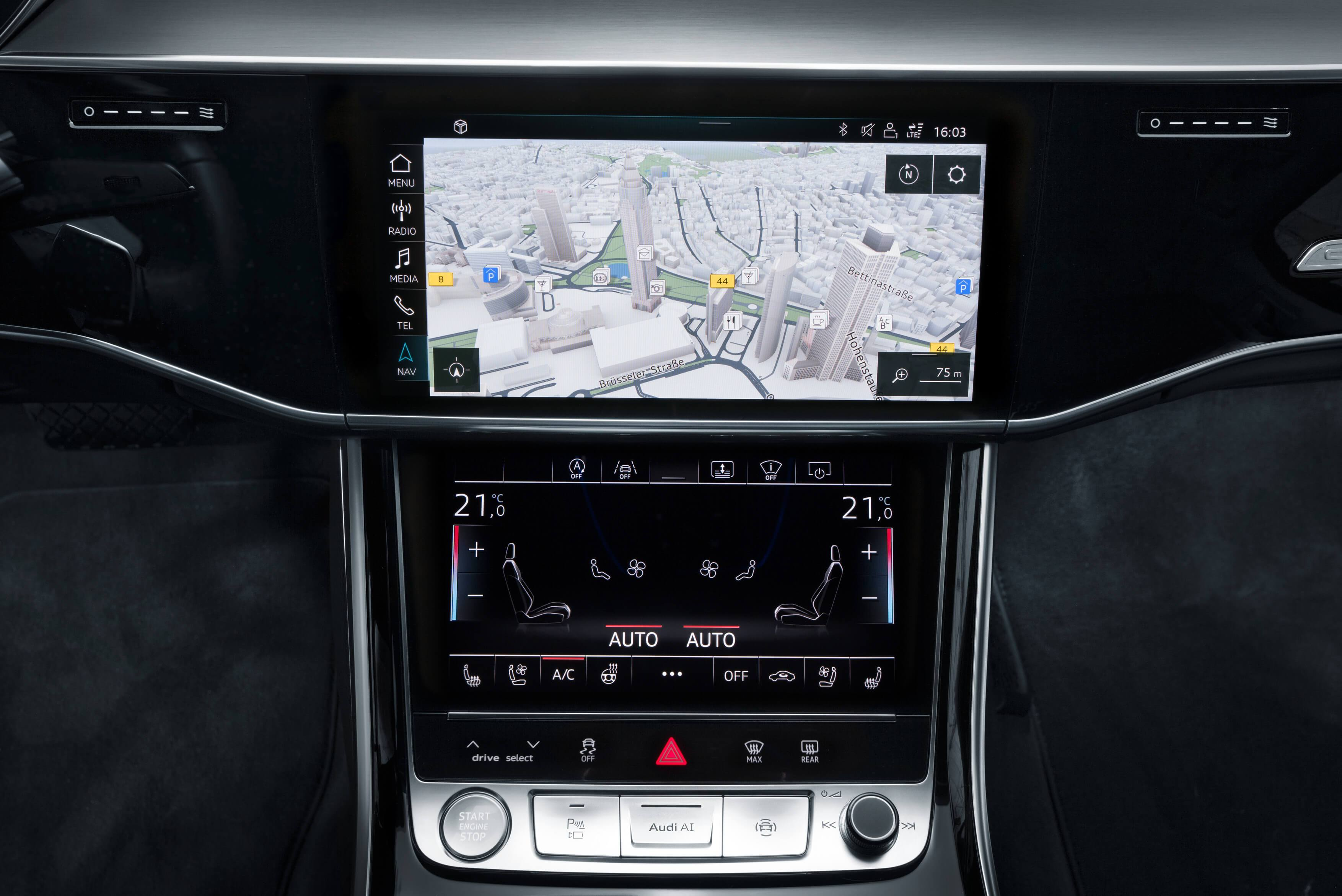 Audi и HERE - навигационные технологии