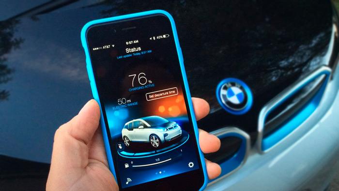 BMW приложение