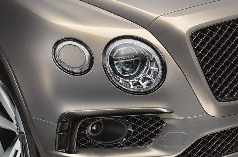 Новый Bentley Bentayga