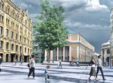Биржевая площадь станет пешеходной – благоустройство!
