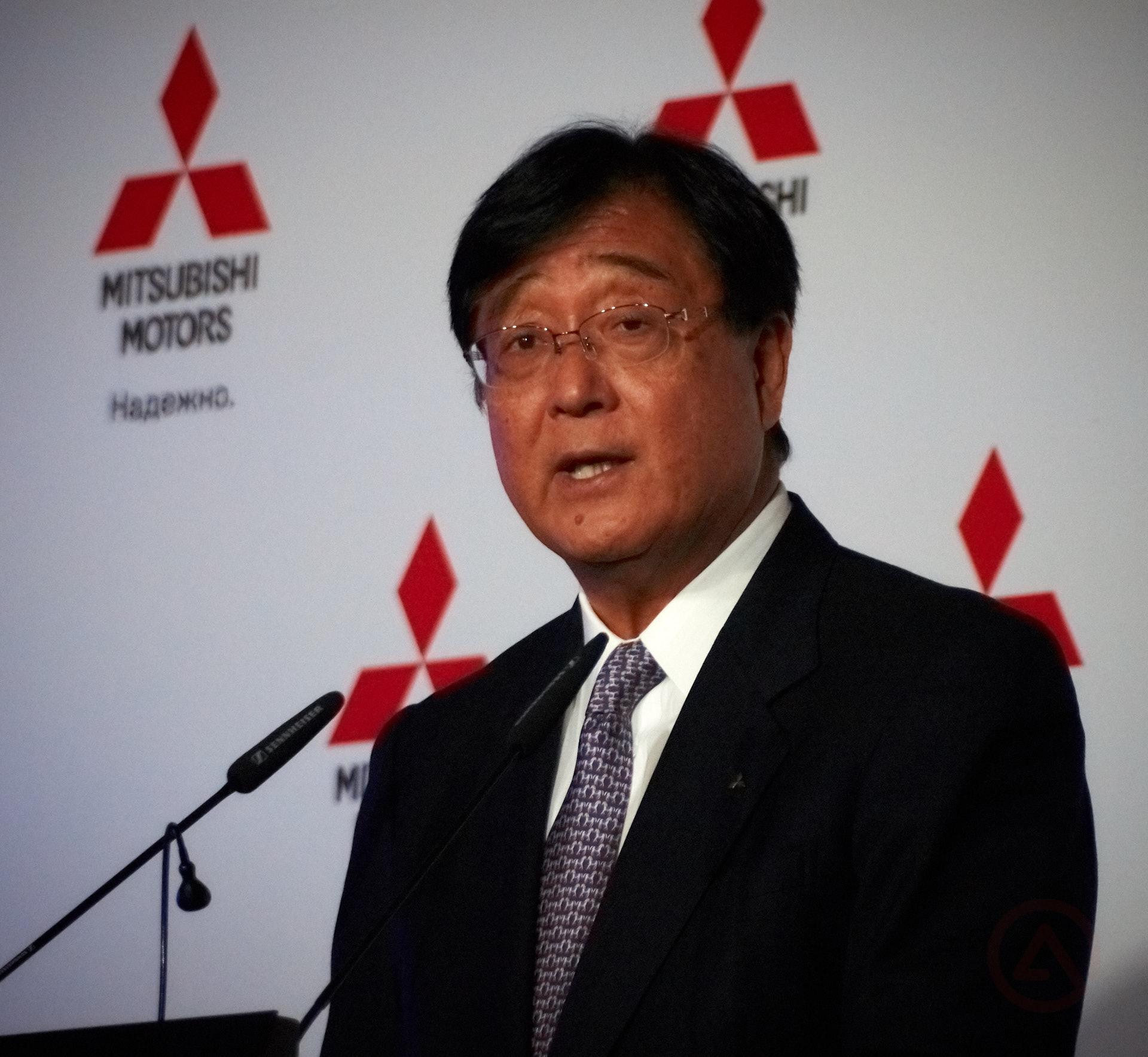 Осаму Масуко Осаму Масуко, Генеральный Директор Mitsubishi Motors