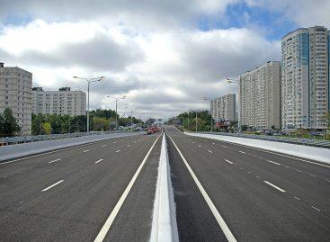 Открыта новая эстакада на Варшавском шоссе