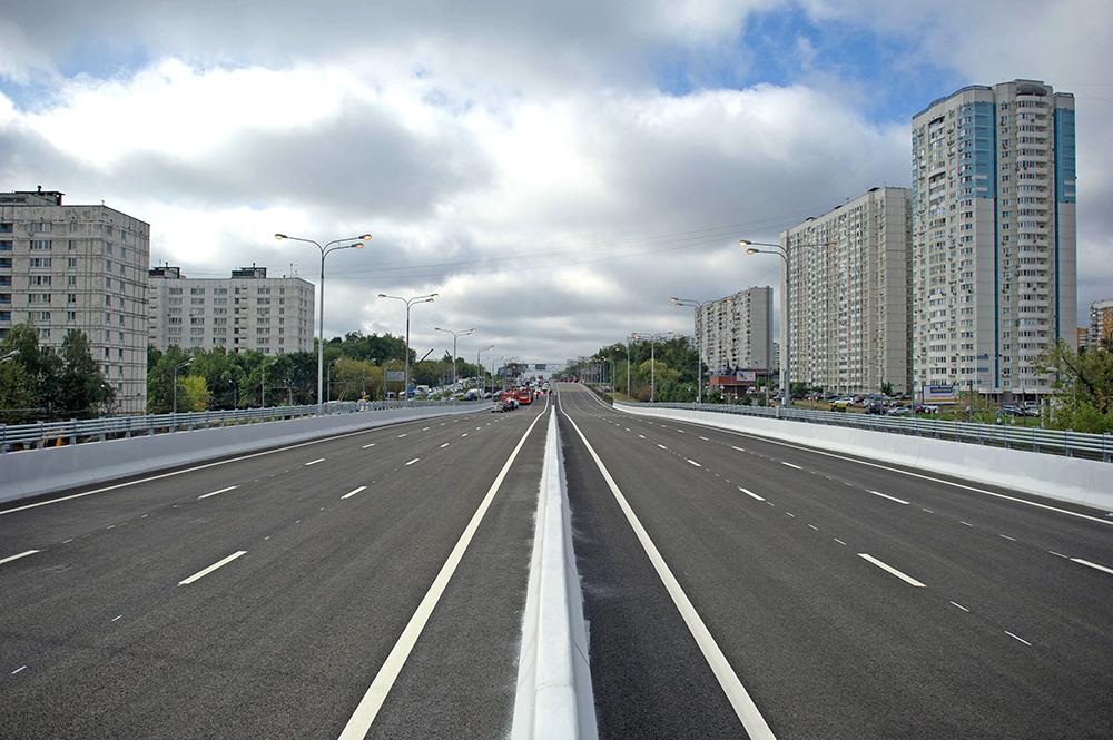 Эстакада прямого хода Варшавское шоссе