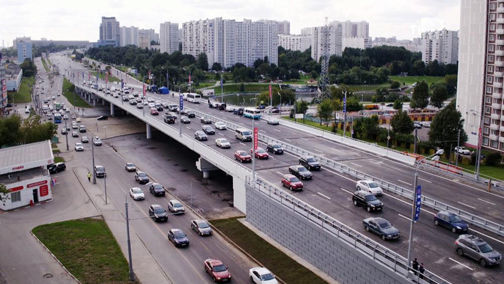 Эстакада прямого хода Варшавское шоссе_1