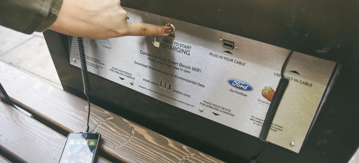 Идеальные скамейки от Ford