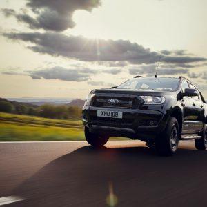 Новый пикап Ford Ranger эксклюзивной серии Black Edition