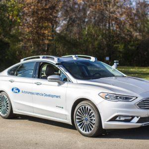 Автономный Ford в качестве такси