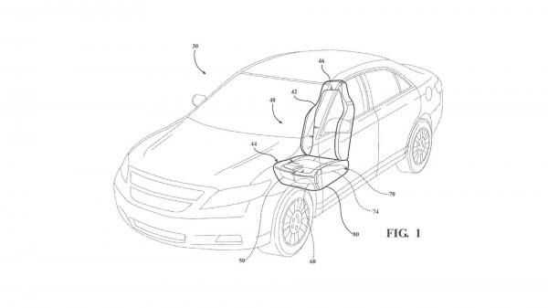 Ford запатентовала подушки безопасности под сиденьями-1