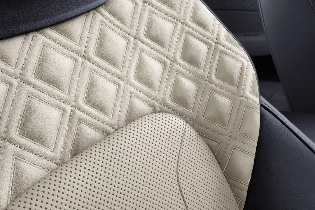 Continental GT- - обшивка сидений