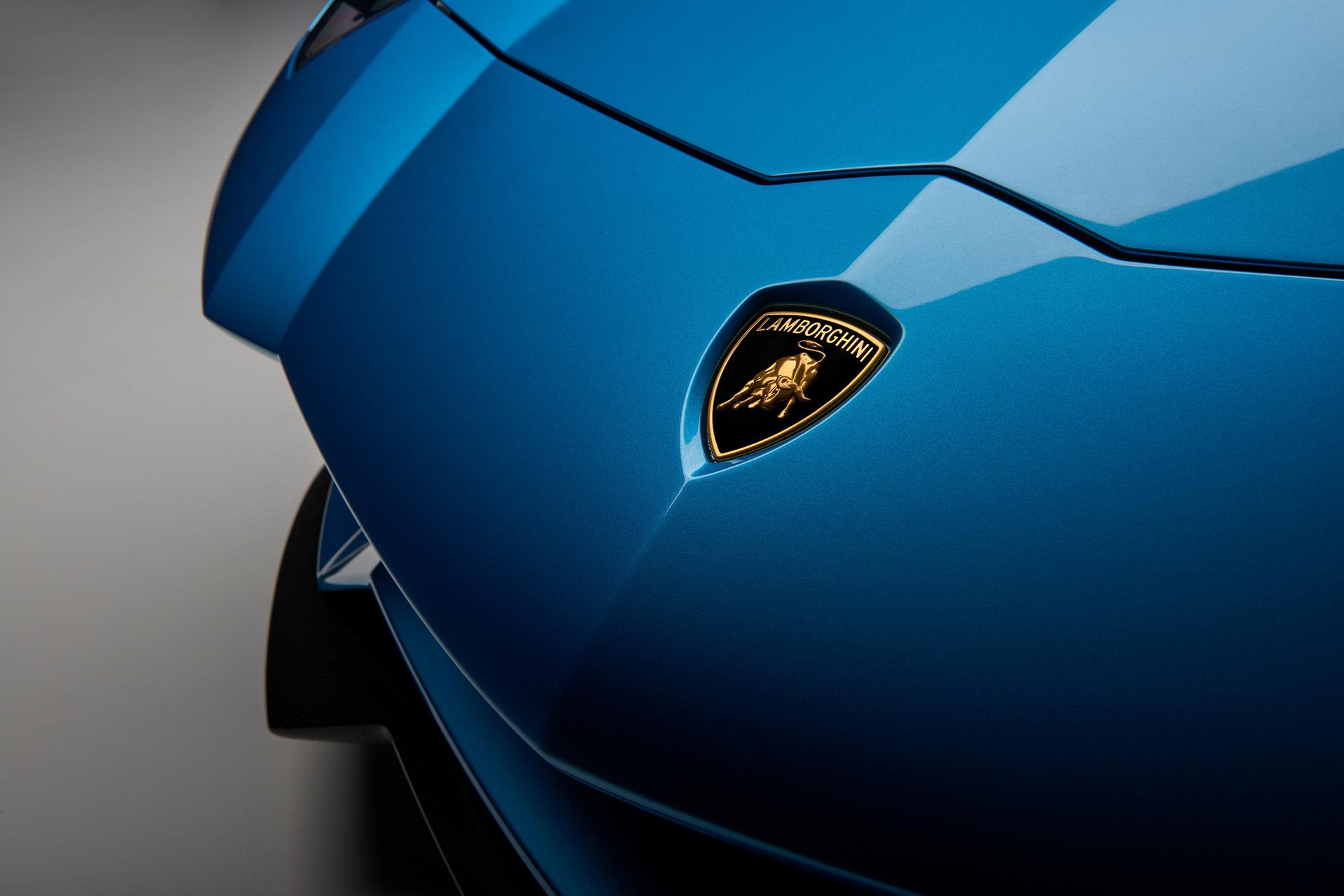 Lamborghini Aventador S Roadster логотип