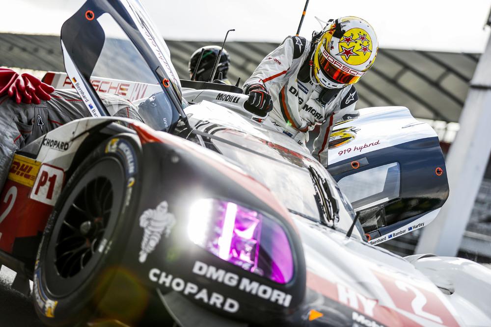 Porsche LMP Team: Earl Bamber