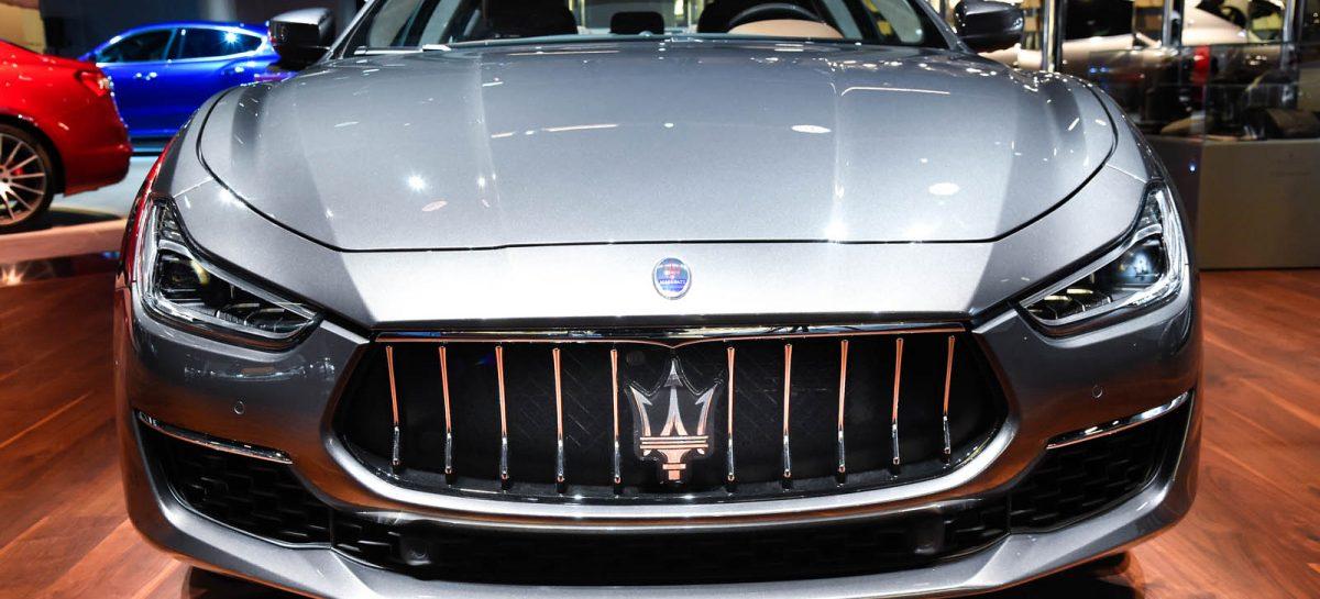 Новинки Maserati