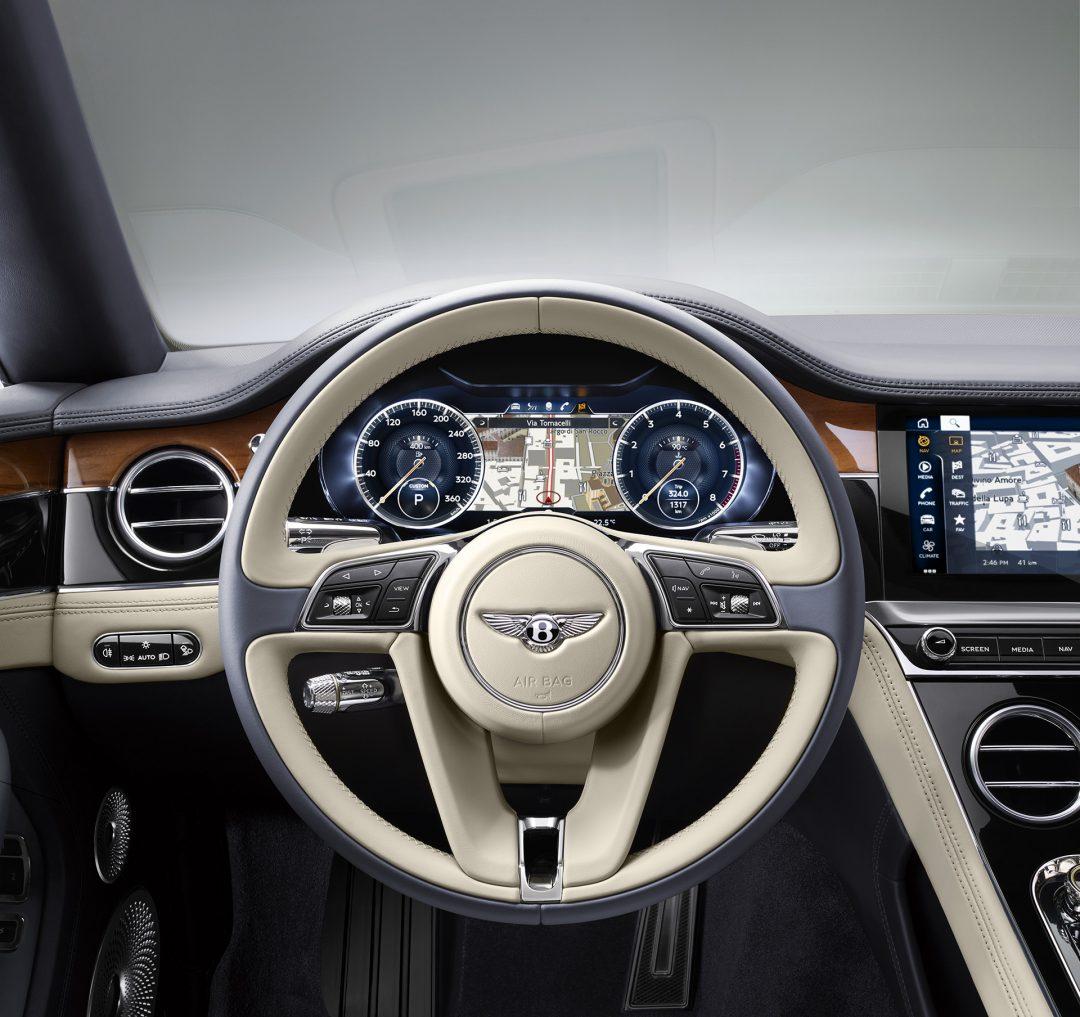 New Continental GT панель
