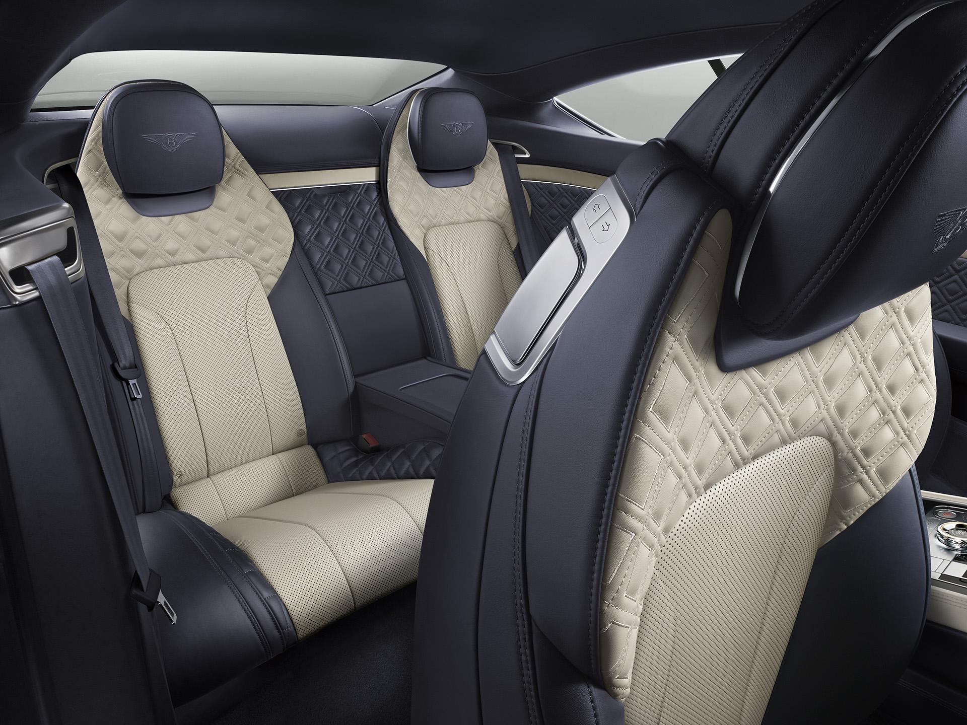 New Continental GT сиденья