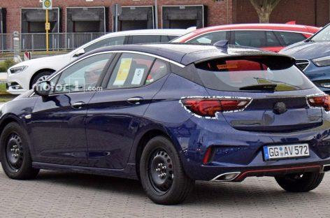 Новый Opel Astra без камуфляжа
