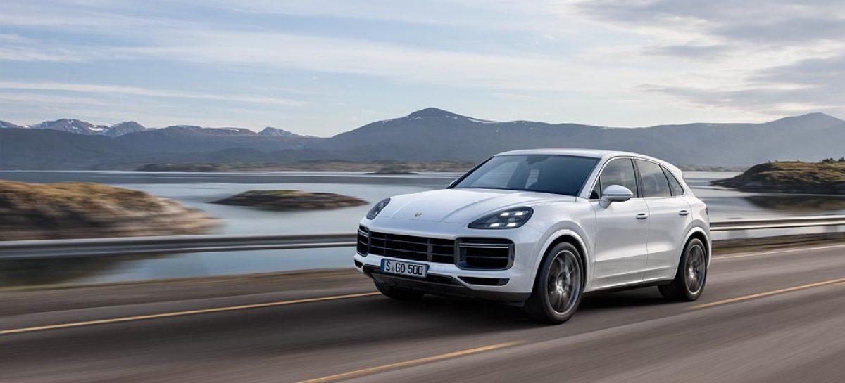 Porsche обещает новый Cayenne Turbo