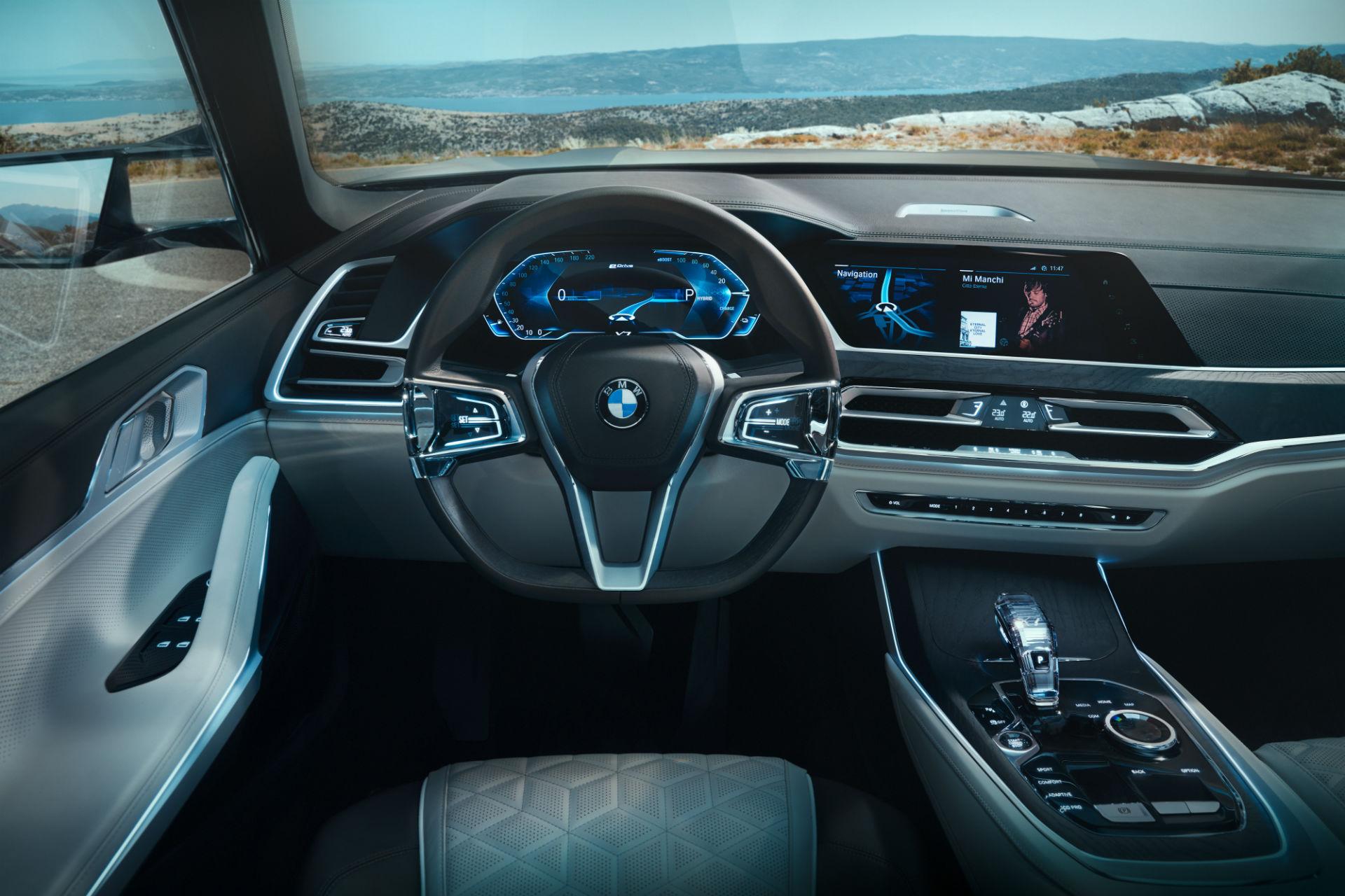 салон BMW X7 iPerformance