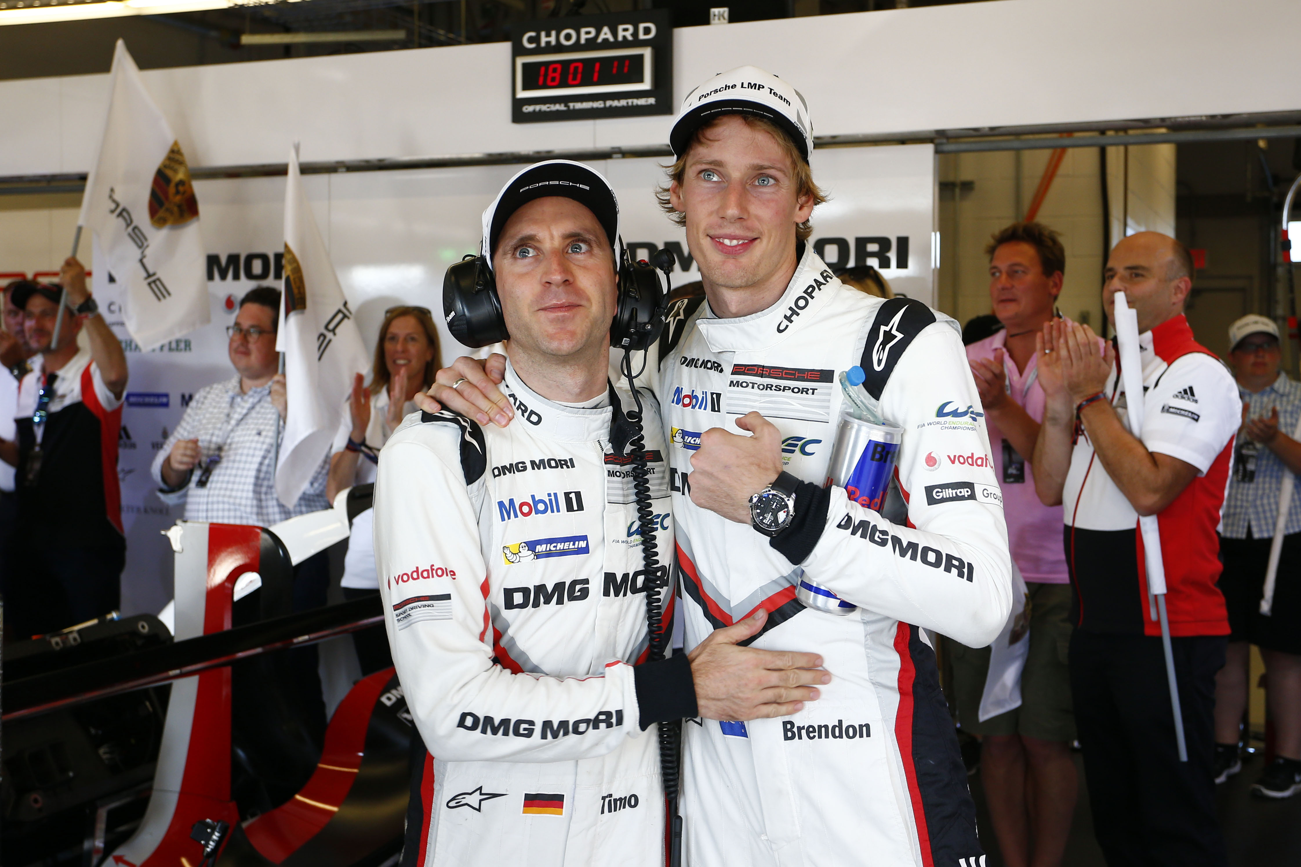 Timo Bernhard, Brendon Hartley