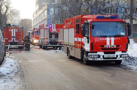 Привет Собянину от московских пожарных