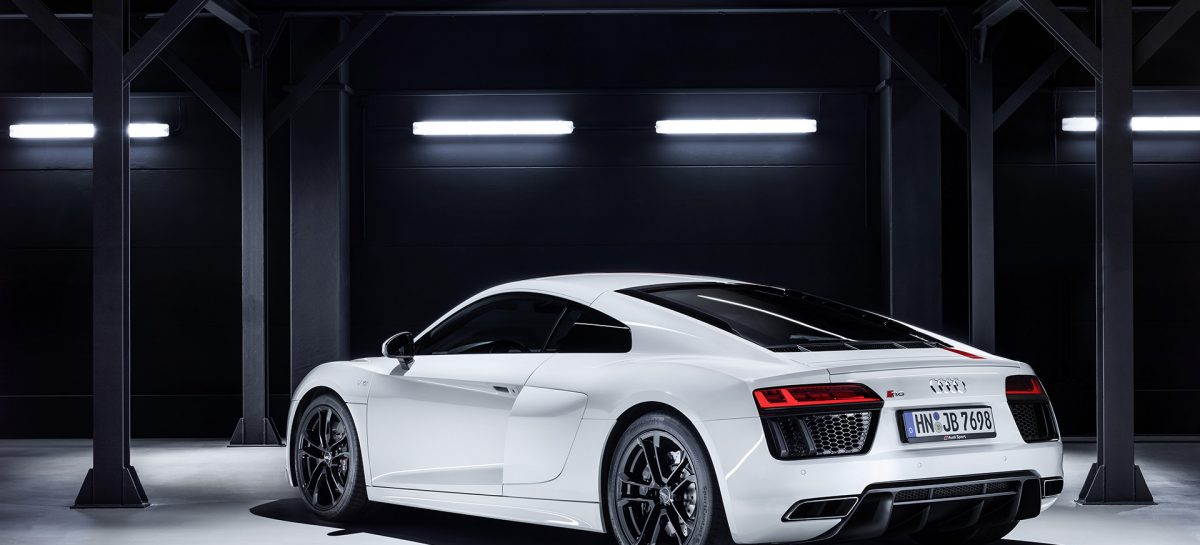 Новый Audi R8 V10 RWS