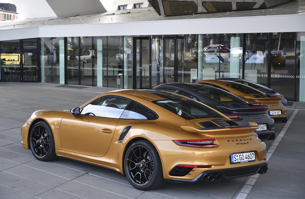 911 Turbo S Exclusive 2017