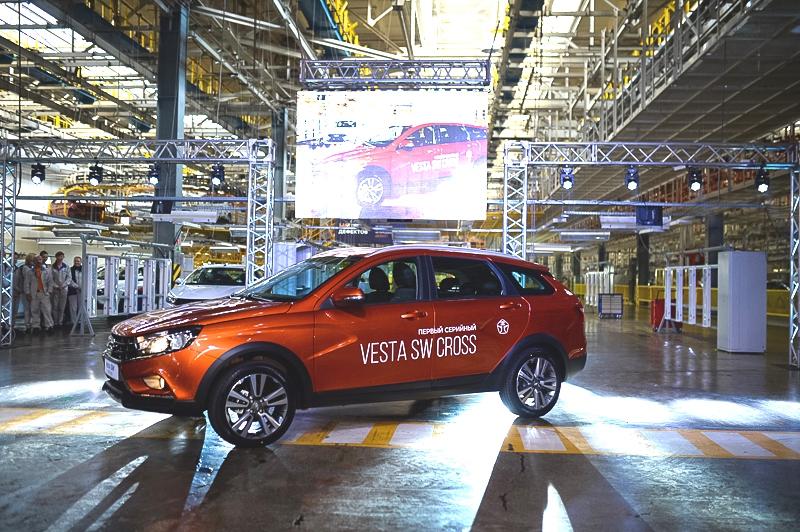 производство LADA Vesta Cross