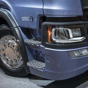 Инновационное решение Scania на выставке Comtrans 2017