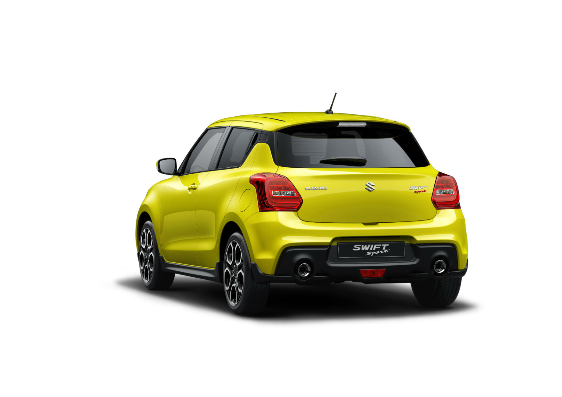 Suzuki Swift Sport вид сзади