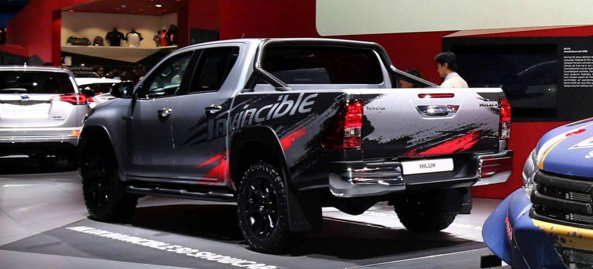 Усовершенствованный пикап Toyota Hilux уже во Франкфурте