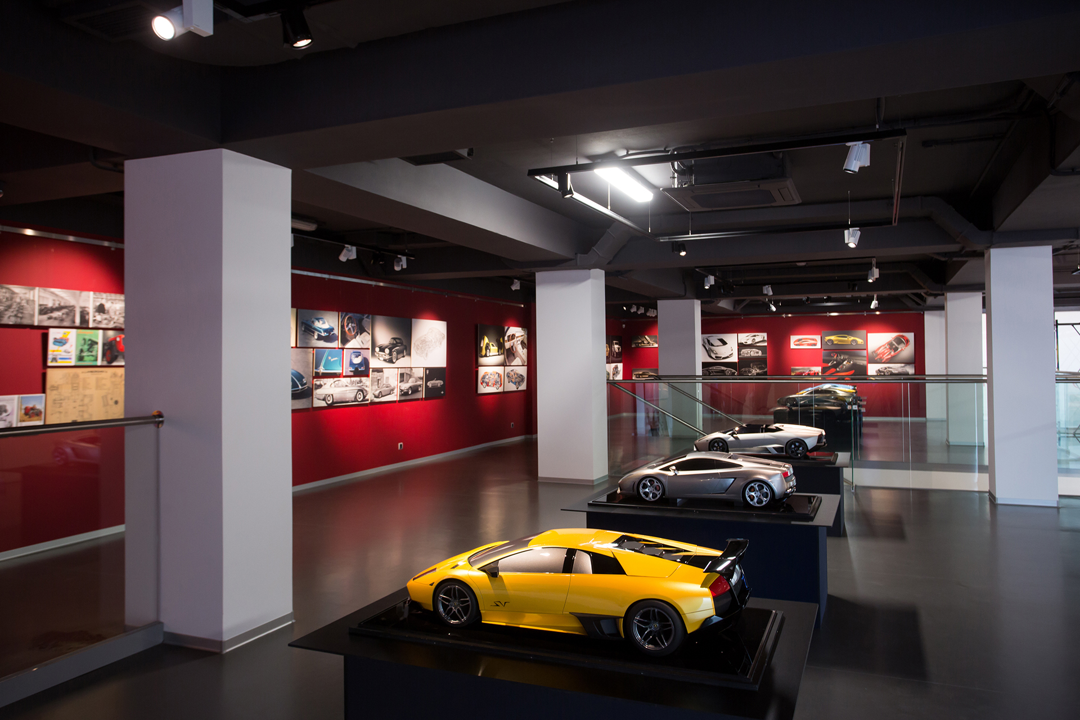 Уменьшенные модели Lamborghini