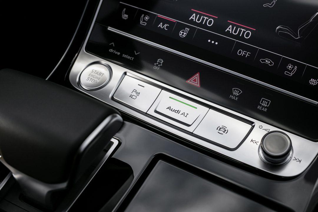 ассистент движения в условиях пробок Audi AI traffic jam pilot
