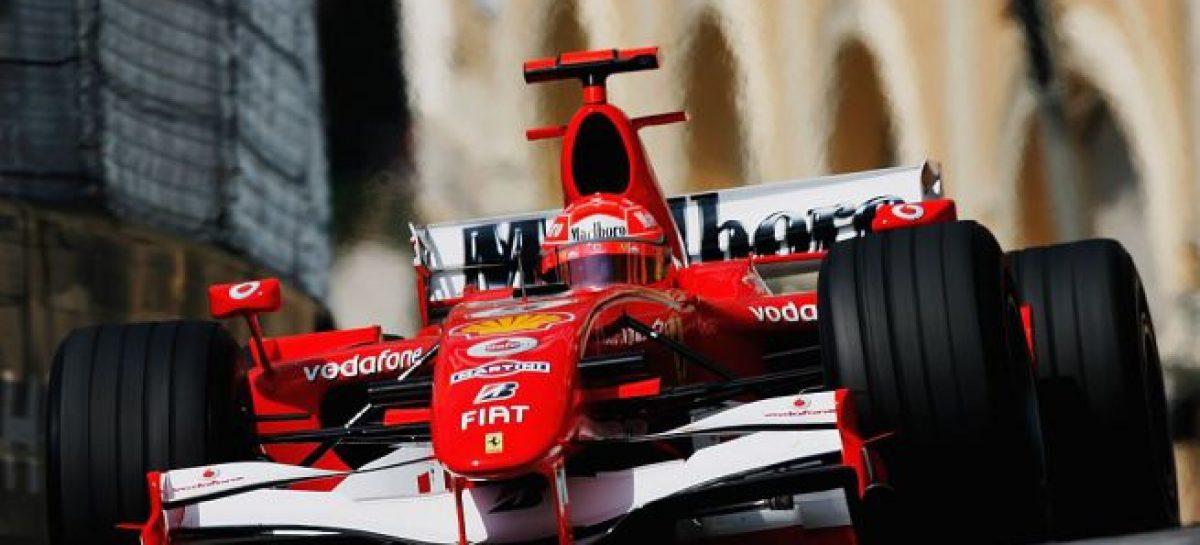 Болид Шумахера уйдет с молотка