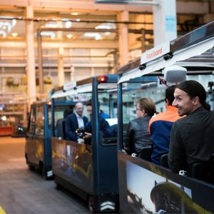 Златан Ибрагимович и сборочные линии новых моделей Volvo
