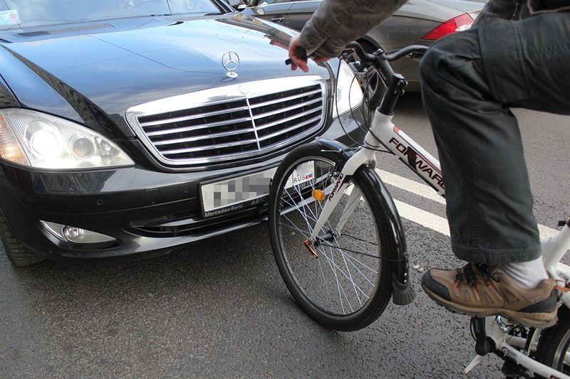 конфликт велосипедист и водитель