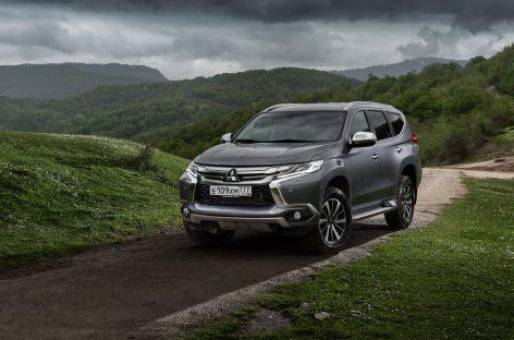 Mitsubishi снижает цены на Pajero Sport