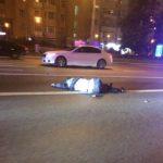 Мерседес с номерами АМР сбил сотрудника ГАИ
