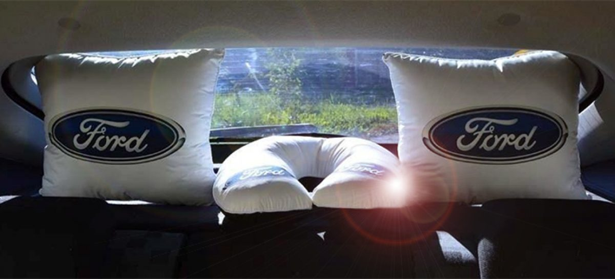 Ford запатентовала подушки безопасности под сиденьями