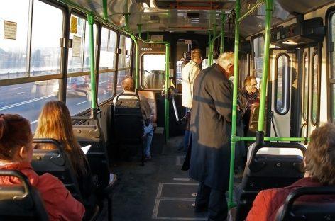 Автобусы в Подмосковье обрабатывают после каждого рейса