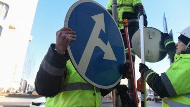 Новые знаки установят на российских дорогах