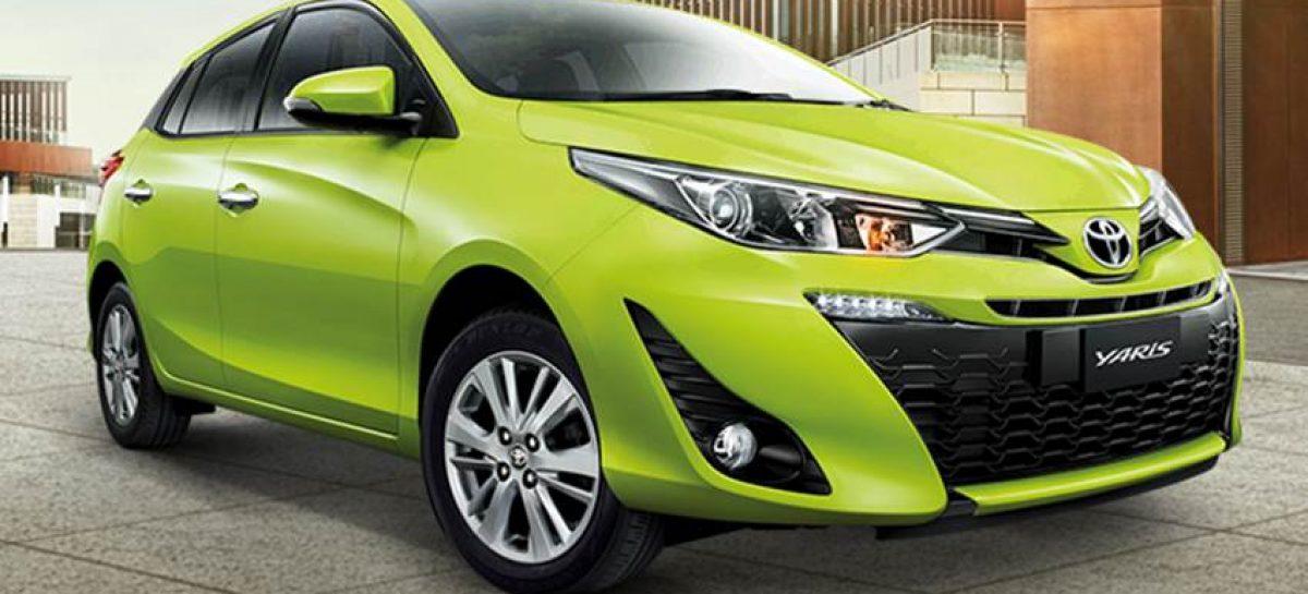 Toyota Yaris в новой модификации