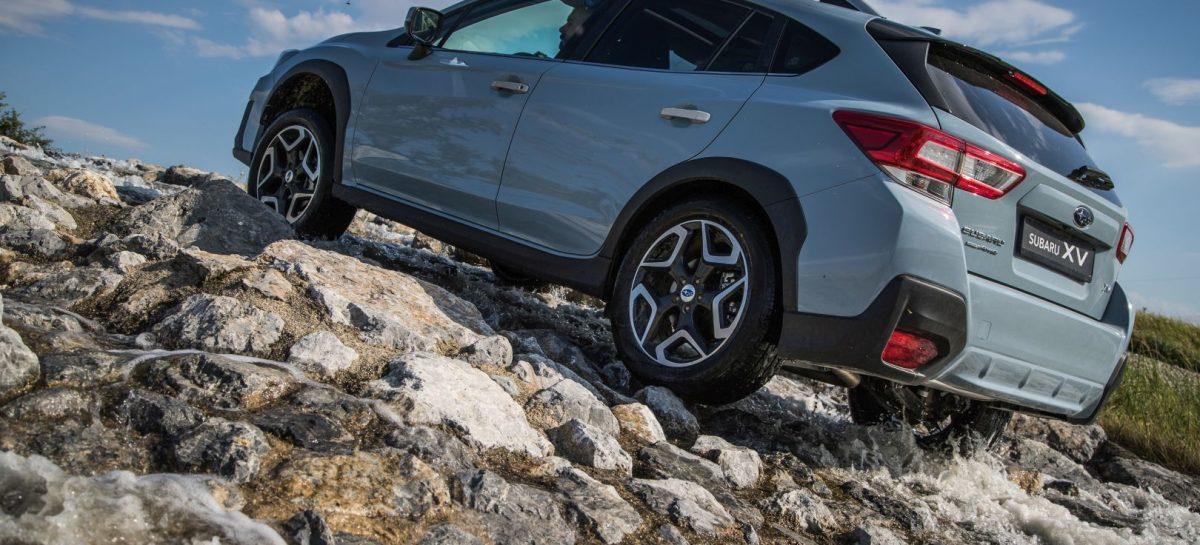 Новая Subaru XV 2018: Двухдневный тест-драйв по горам Кавказа