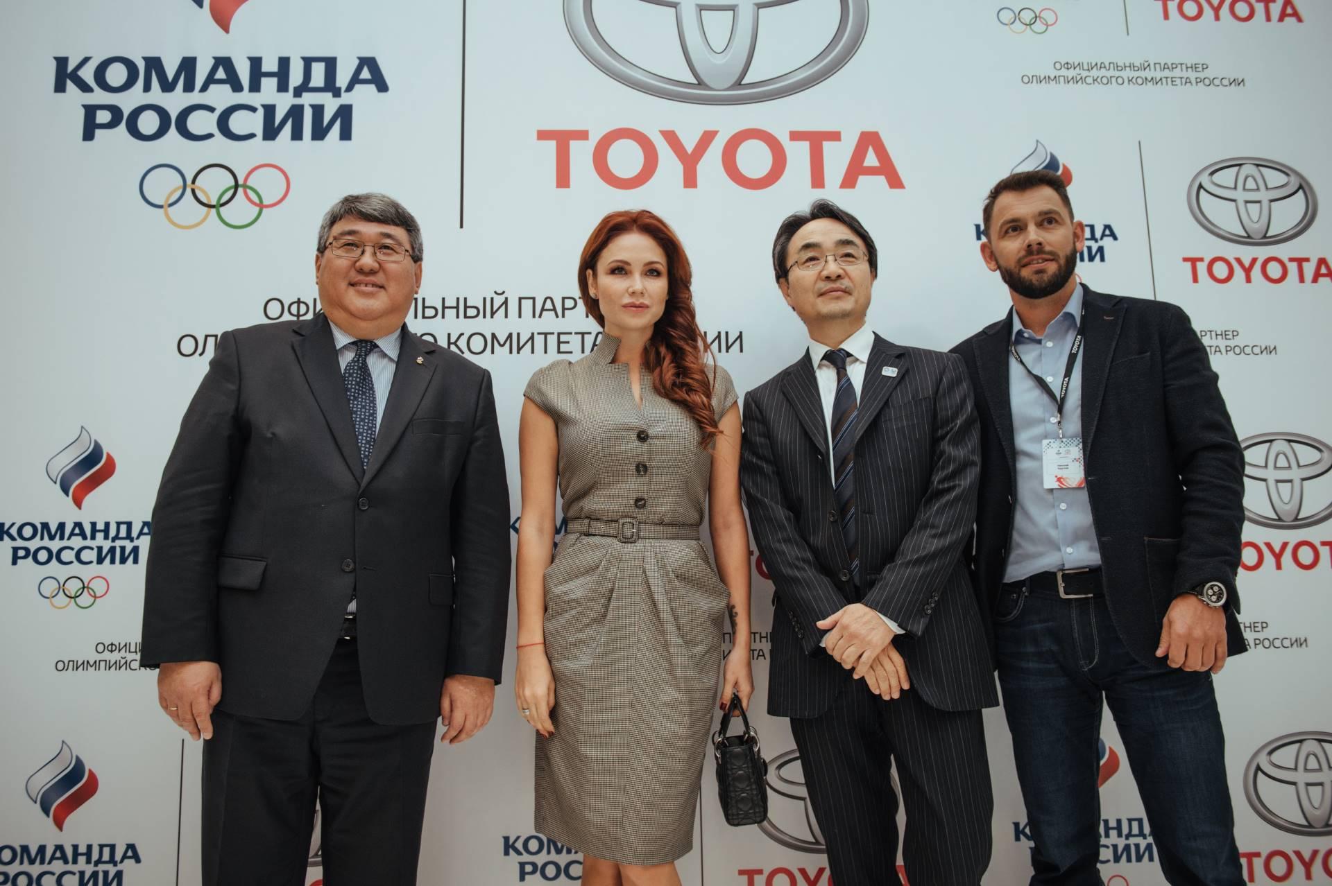 Toyota и Олимпийский Комитет России