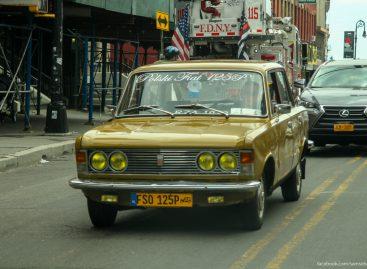Старые автомобили на улицах Нью-Йорка — 29