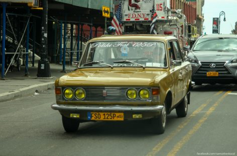 Старые автомобили на улицах Нью-Йорка – 29